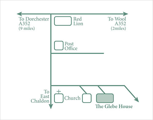 Directions to The Glebe House