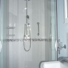 "en-suite with large ""drench"" shower"
